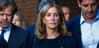 Hollywood Won't Hire Felicity Huffman after College Admission Scandal