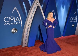 Celebrities at 2019 CMA Awards Red Carpet