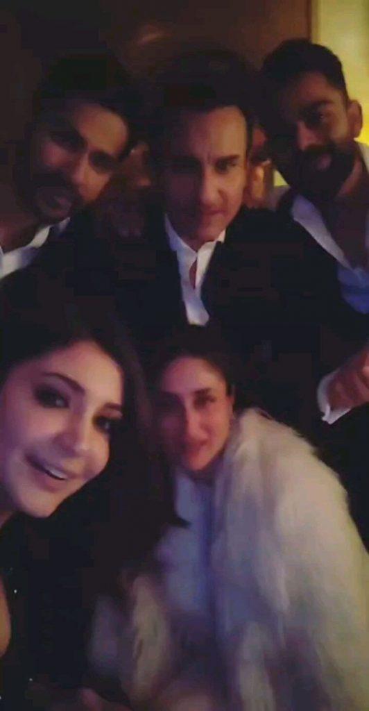 Saif, Kareena, Anushka, Virat, and Varun on New Year