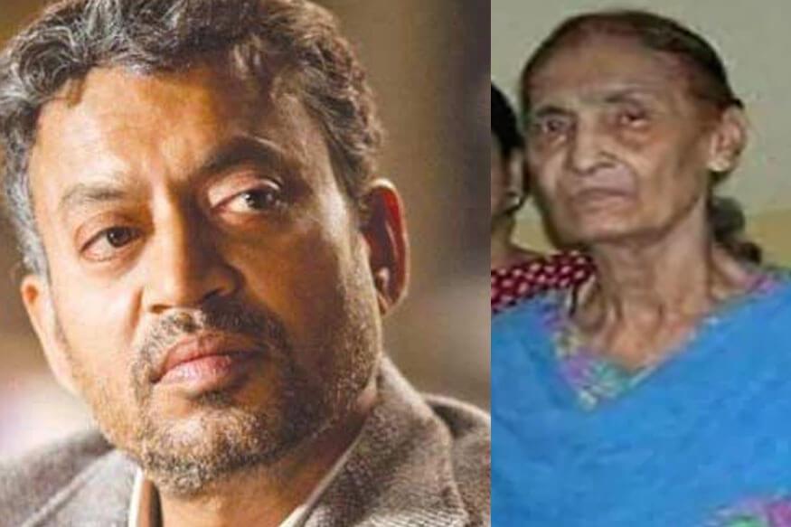 Irfan Khan's mother died