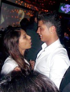 Ronaldo and Bipasha kiss