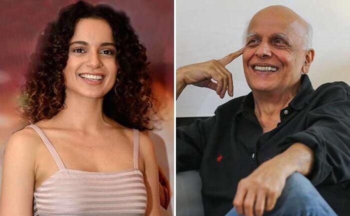 Mahesh Bhatt and Kangana Ranaut