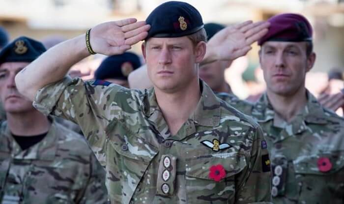 Prince Harry - Celebrities Who Served in Military