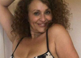 Nadia Sawalha Shares Warning Pics of Before and After Wearing Underwear