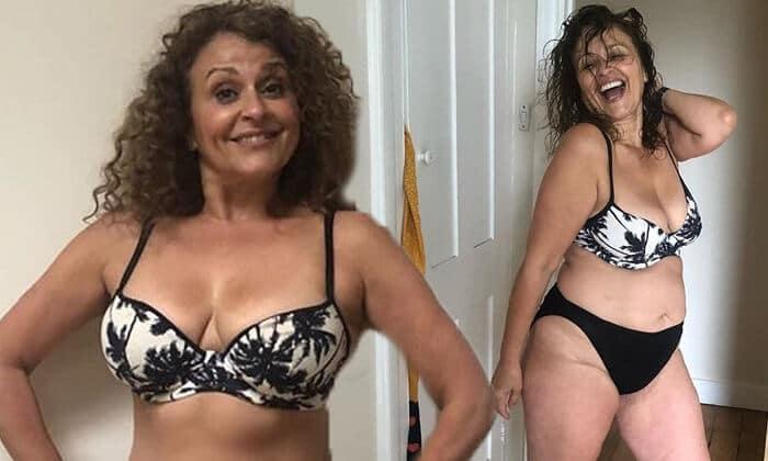 Nadia Sawalha Underwear Pics