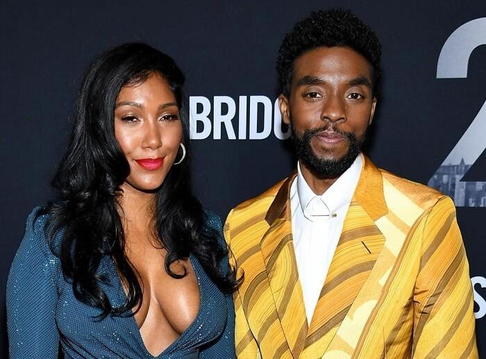 Chadwick Boseman wife