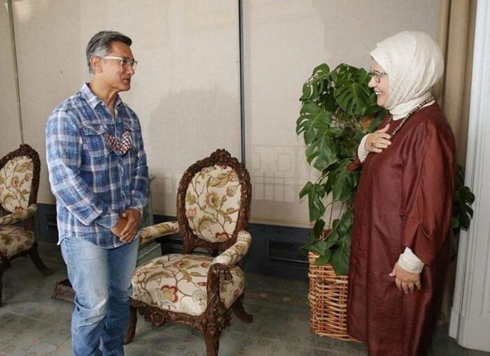 Amir Khan with Turkey's First Lady