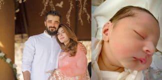 Hamza Ali Abbasi and Naimal Khawar are Blessed with a Baby Boy