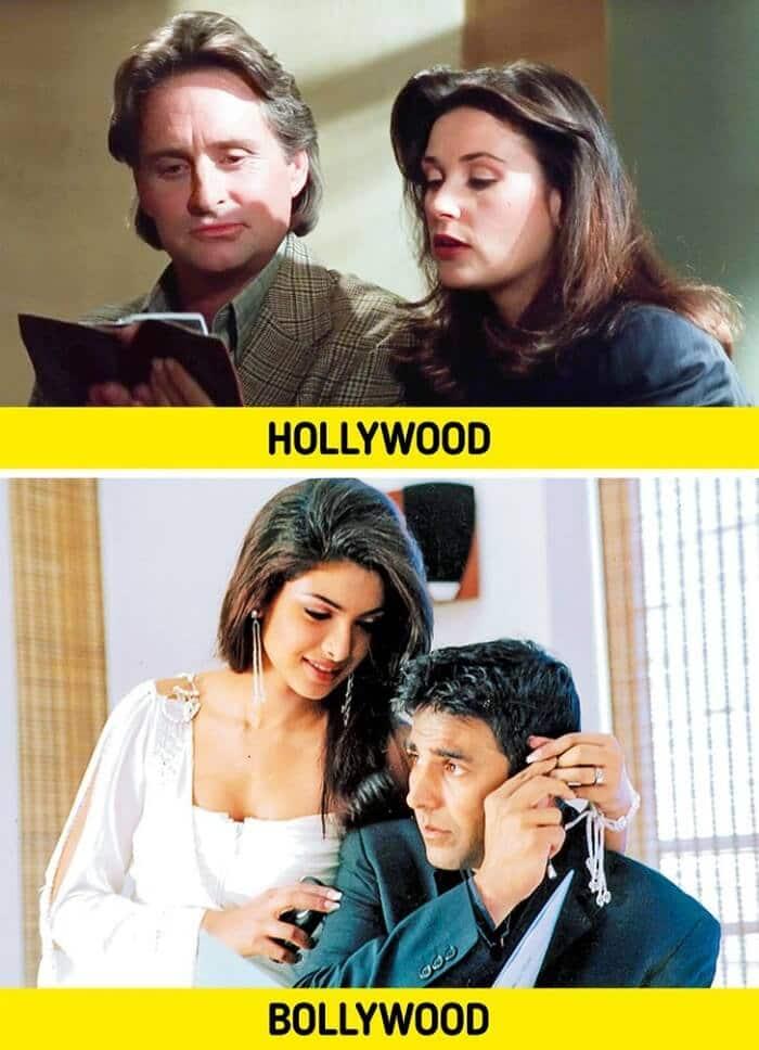 Disclosure (1994) vs Aitraaz (2004) - Bollywood Movies Inspired by Hollywood