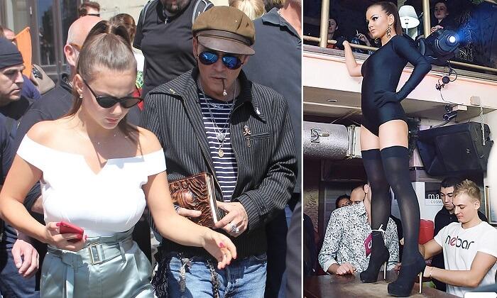 Johnny Depp dating Russian go-go dancer Polina Glen