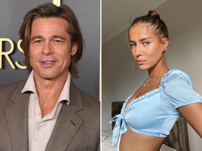 Brad Pitt dating Nicole Poturalski