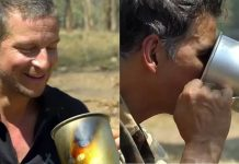 Into The Wild: Akshay Kumar Drinks 'Elephant Poop Tea'