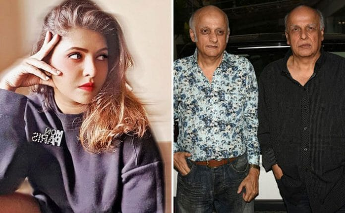 Mahesh Bhatt and Mukesh Bhatt File a Defamation Suit against Luviena Lodh