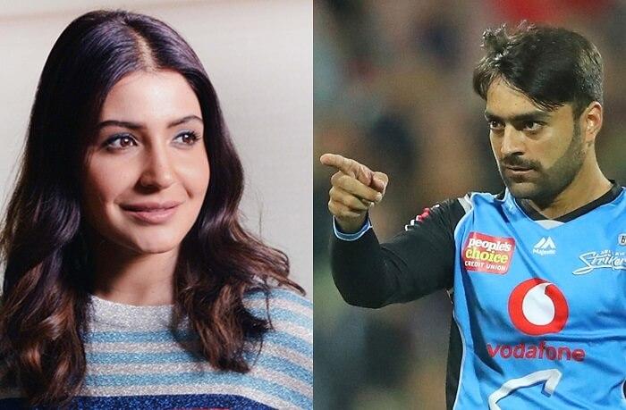 Why does Google think Anushka Sharma Wife of Rashid Khan?