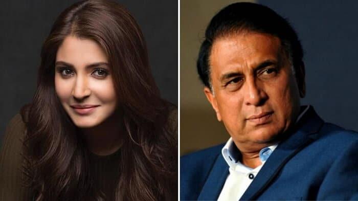 Sunil Gavaskar comments on Anushka Sharma