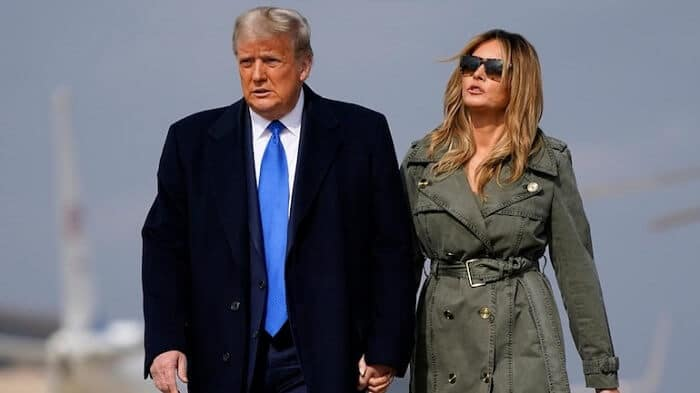 Melania and Trump divorce