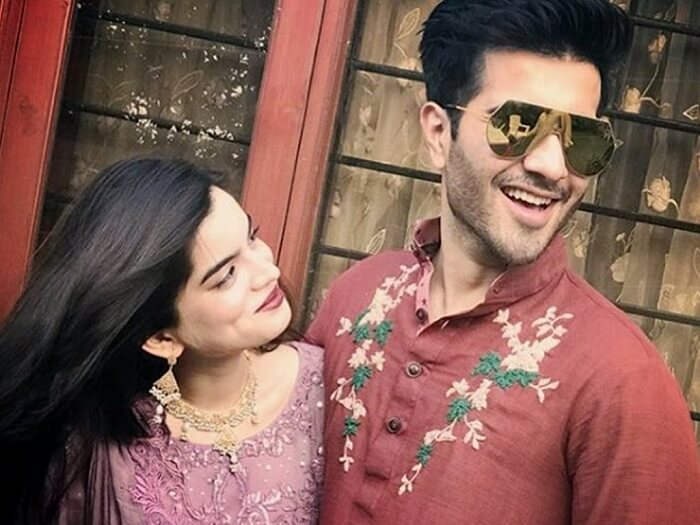 Feroze Khan and Wife