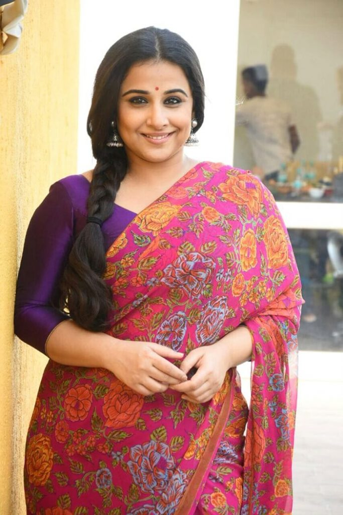 Vidya Balan on Her Weight